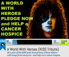 World with Heroes PledgeMusic Campaign