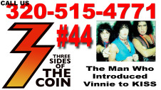 Adam Mitchell, Responsible for Introducing Vinnie Vincent to KISS Talks to Three Sides of the Coin