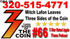 Ep. 66 Mitch Lafon Leaves Three Sides of the Coin His Last Show