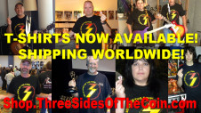 Get your Three Sides of the Coin T-shirt