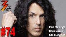 Paul Stanley's Book Q&A in San Francisco Three Sides of the Coin Attends