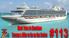 Ep. 113 KISS Kruise V is nearly sold out will a electric sail away show wow Mike & Tommy