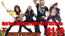 Ep. 119 Mark Vents About Steel Panther Playing on the KISS Kruise V.