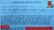 Ep. 143 Meeting Notes from KISS Financial & Business Meetings in 1977 & 1979
