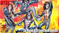 Ep. 151 We Take a Look at the Marvel Comics KISS Comic Book Contract