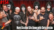 Ep. 154 Mark Cicchini Sits Down with Chris Jericho on the KISS Kruise
