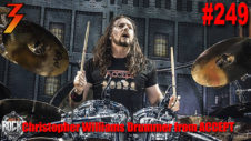 Ep. 249 Mark Goes Fanboy on Christopher Williams Drummer from ACCEPT