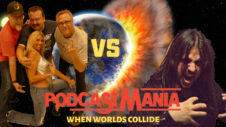 Ep. 332 PODCASTMANIA - When Worlds Collide Dr Fukk Joins Three Sides of the Coin